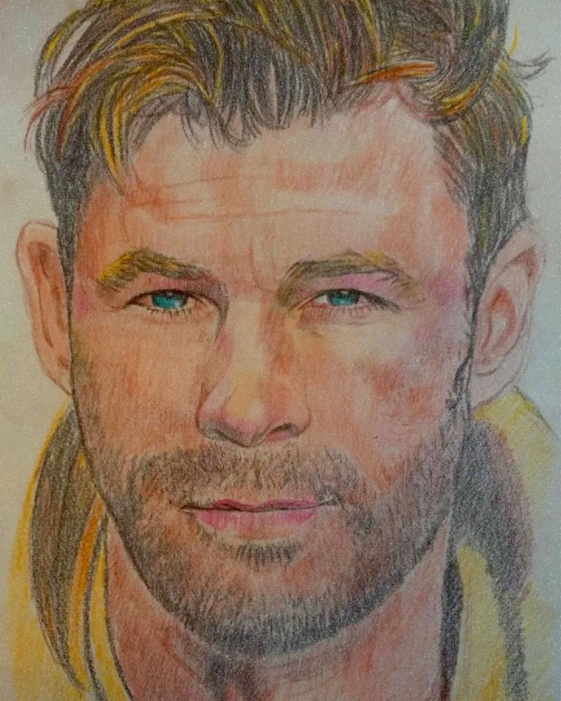 Chris Hemsworth por g1adina87